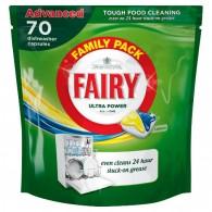 Таблетки за съдомиялна Fairy ultra power All in One