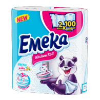 EMEKA Kitchen rolls 3-ply Fresh
