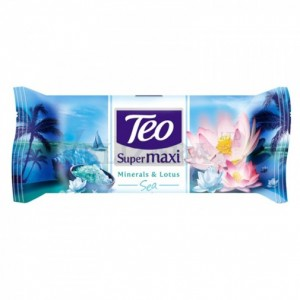 Сапун Teo supermaxi mineral and lotus 140gr